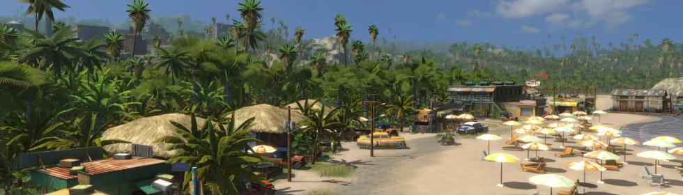Banner Art for Games Like Tropico 3
