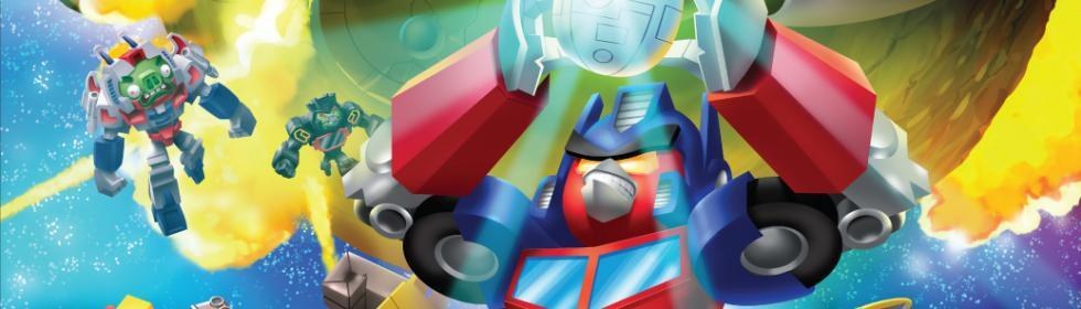 Angry Birds Transformers Cover Art