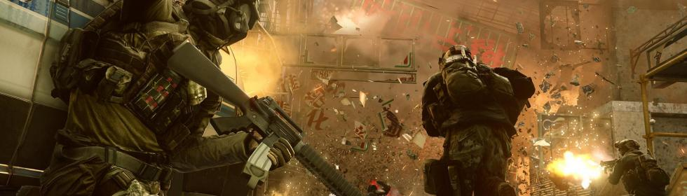 Banner Art for Games Like Battlefield 4
