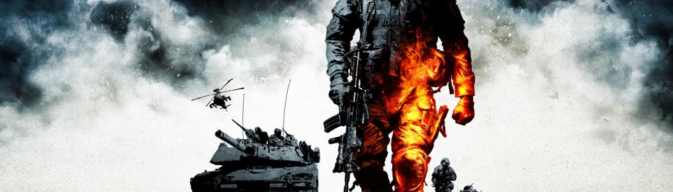 Banner Art for Games Like Battlefield: Bad Company 2