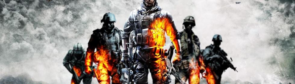 Banner Art for Games Like Battlefield: Bad Company