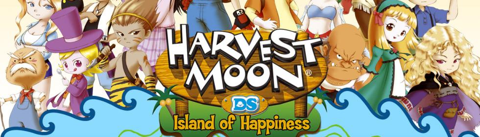 Harvest Moon DS: Island of Happiness Cover Art