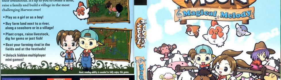 Harvest Moon: Magical Melody Cover Art