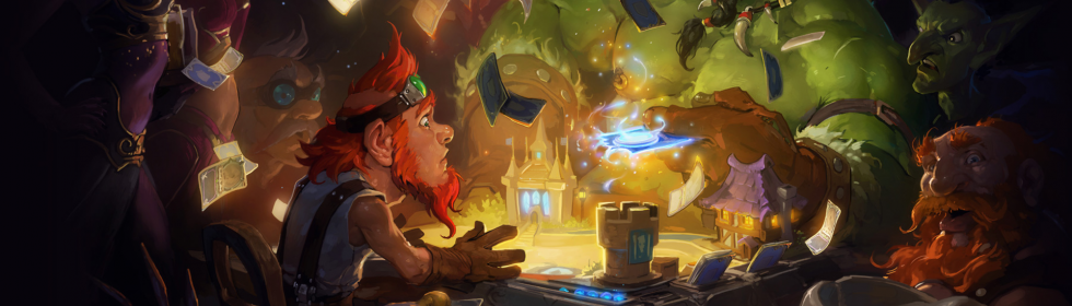 Hearthstone: Heroes of Warcraft Cover Art