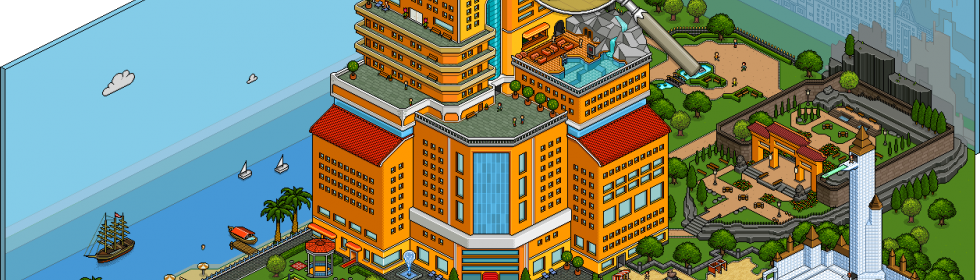 Habbo Hotel Cover Art
