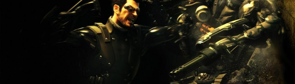Banner Art for Games Like Deus Ex: Human Revolution