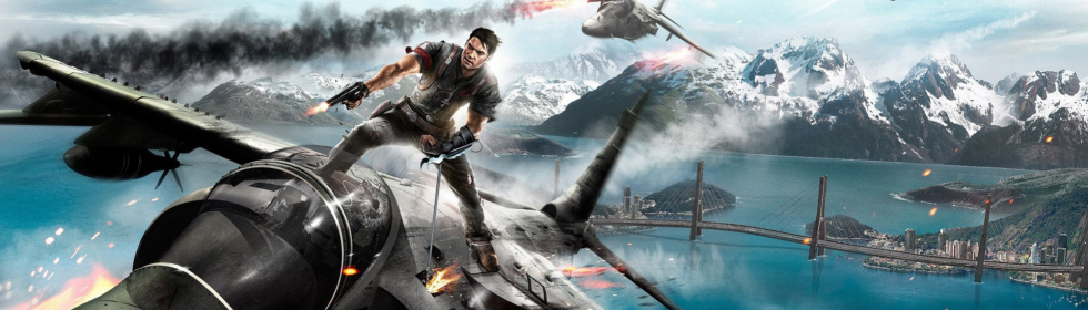 Banner Art for Games Like Just Cause 2