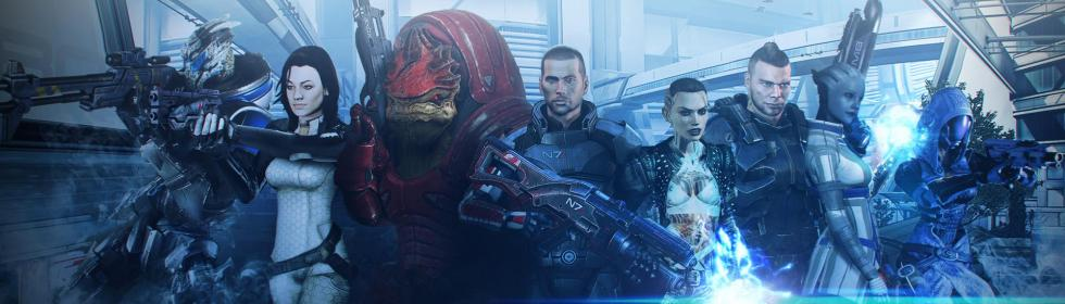 Banner Art for Games Like Mass Effect 3