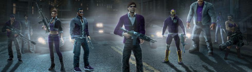 Banner Art for Games Like Saints Row: The Third