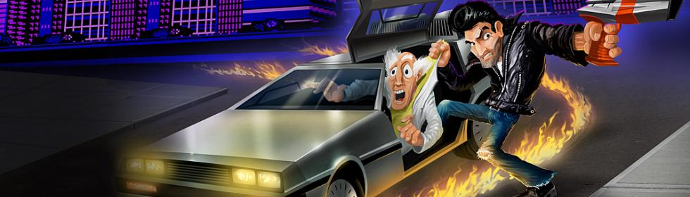 Banner Art for Games Like Retro City Rampage