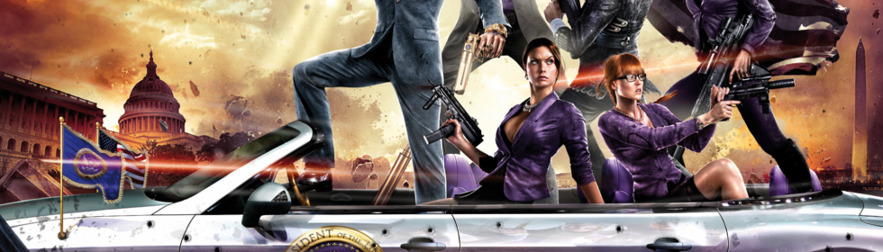 Saints Row IV Cover Art