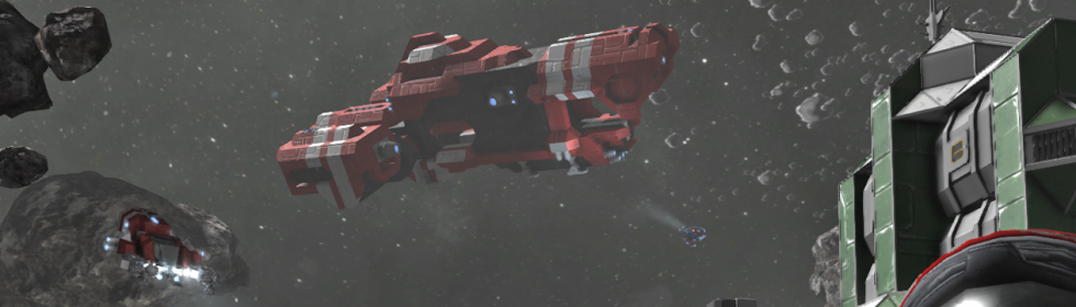 Banner Art for Games Like Space Engineers