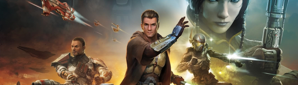 Star Wars: The Old Republic Cover Art