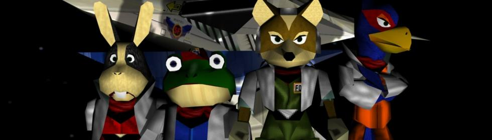 Banner Art For Games Like Star Fox 64