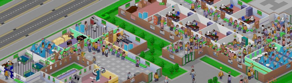 Theme Hospital Cover Art