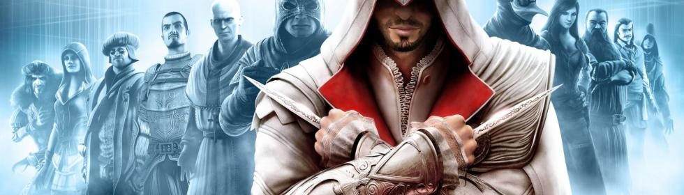 Banner Art for Games Like Assassin's Creed: Brotherhood