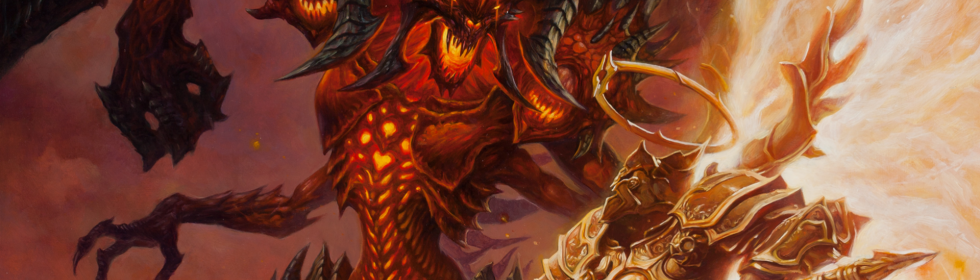 Banner Art for Games Like Diablo III