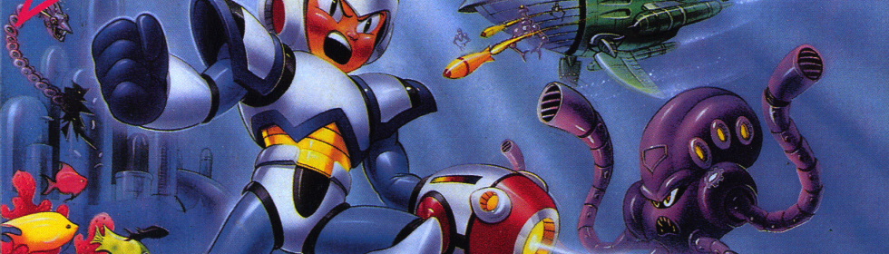 Mega Man X Cover Art