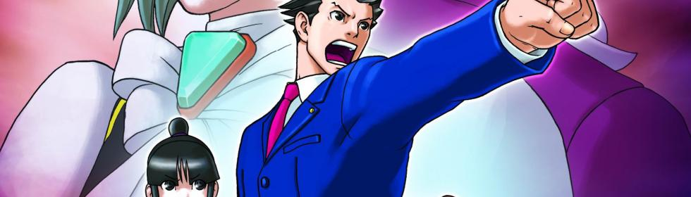 Phoenix Wright: Ace Attorney Cover Art