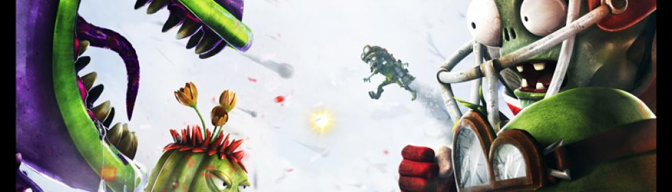 Plants vs Zombies: Garden Warfare Cover Art
