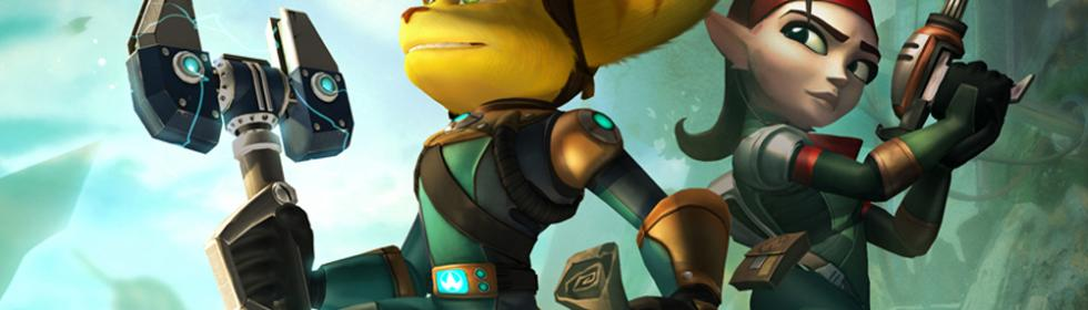 Ratchet and Clank Future: Quest for Booty Cover Art