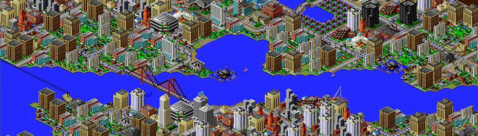 SimCity 2000 Cover Art