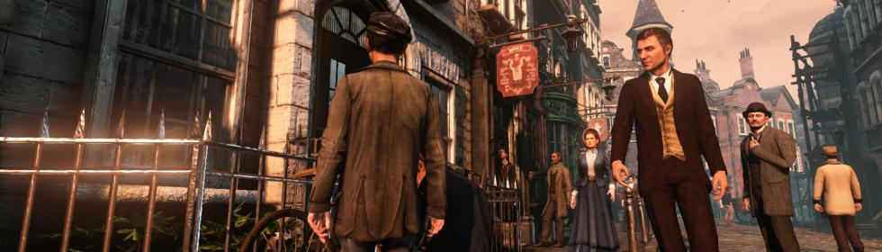 Banner Art for Games Like Sherlock Holmes: Crimes & Punishments