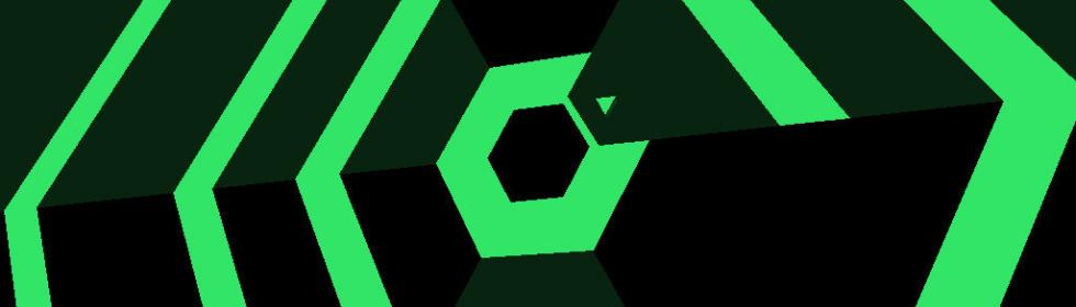 Super Hexagon Cover Art