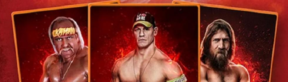 WWE SuperCard Cover Art
